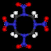 Октоген: вид молекулы