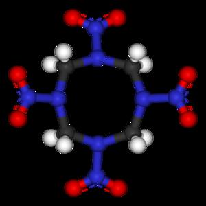 HMX - Image: HMX 3D balls