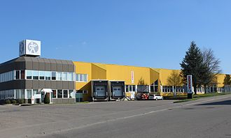 Hohner - The company headquarters in Trossingen