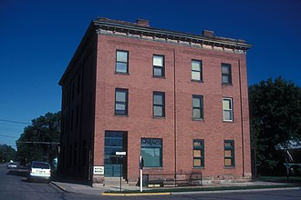 National Register of Historic Places listings in McHenry County, North Dakota - Image: HOTEL BERRY