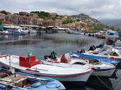 Hafen von Molivos