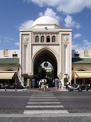 Hafenmarkt Rhodos02