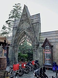 Hagrids Magical Creatures Motorbike Adventure Roller coaster at Islands of Adventure