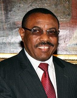 Hailemariam Desalegn Prime Minister of Ethiopia