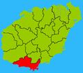 Hainan subdivisions - Sanya.png