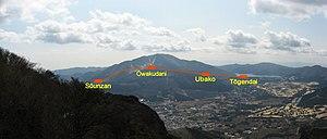 Hakone Ropeway - A route of Hakone Ropeway.
