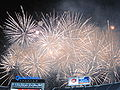 Halftime fireworks show at 2009 Poinsettia Bowl 3.JPG