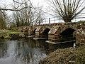 Hampton-in-Arden packhorse bridge - geograph.org.uk - 1777551.jpg
