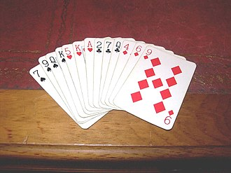 Curse of Scotland - The Nine of Diamonds is sometimes referred to as the Curse of Scotland.