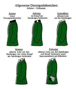 Gefreiter - Image: Hannoversches Jaegar Bataillon Nr.10
