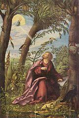 John the Evangelist on Patmos