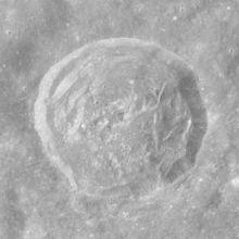 汉森陨石坑