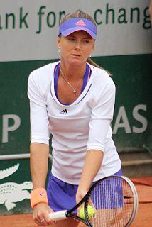 Daniela Hantuchová Slovakian tennis player