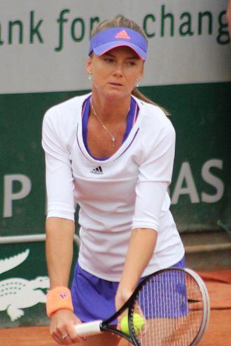 Daniela Hantuchová - Hantuchová at the 2015 French Open