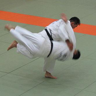 Harai goshi - Harai goshi judo throw