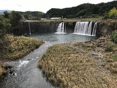 Harajiri Waterfall from Takimibashi Bridge 4.jpg