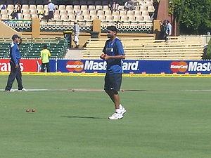 Harbhajan Singh, Indian cricketer. 4 Test seri...