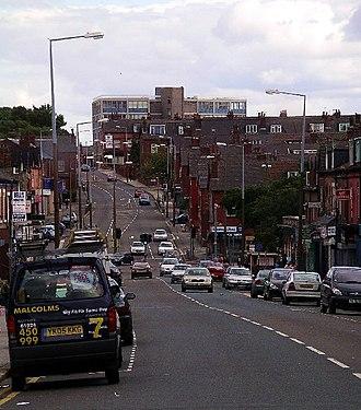 Harehills - Image: Harehills Lane, Leeds geograph.org.uk 35082