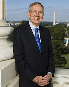 Portrait officiel de Harry Reid, 2009.