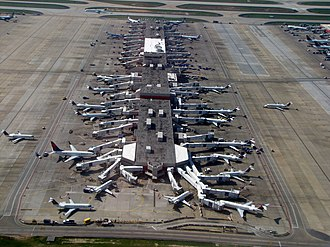 Hartsfield–Jackson Atlanta International Airport - An Aerial view of Concourse C
