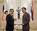 Haruhiko Kuroda visits Abhisit Vejjajiva.jpg