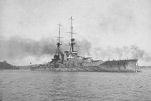 Kongō-class battlecruiser - Image: Haruna at Yokosuka 1916