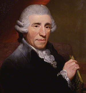 Gottfried van Swieten - Joseph Haydn as portrayed by Thomas Hardy, 1792