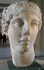 Head of Sappho Smyrna Istanbul Museum Hellenistic period.JPG