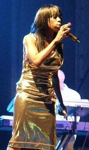 British soul - Heather Small performing in Southport, Merseyside, England in 2008
