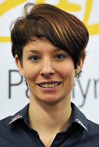 Heidi Zacher bei der Olympia-Einkleidung Erding 2014 (Martin Rulsch) 02