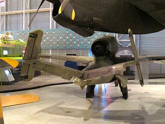 Heinkel He 162 - He 162 tail