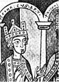 Heinrich VI 1165-1197 Kaiser RKK Miniatur um 1180.jpg