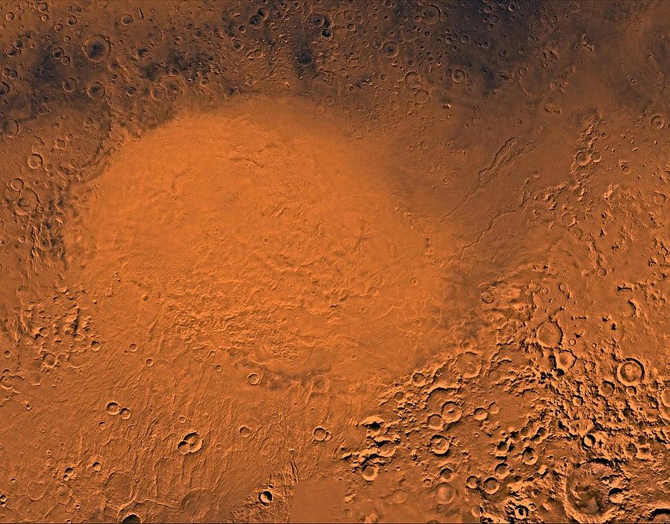 Hellas Planitia by the Viking orbiters