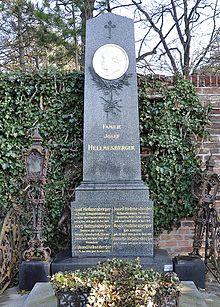 Hellmesberger-Grab auf dem Hietzinger Friedhof (Quelle: Wikimedia)