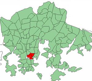 Kallio - Image: Helsinki districts Kallio