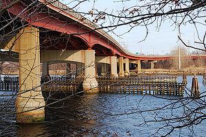 Henderson Bridge (Rhode Island) - Henderson Bridge, Rhode Island