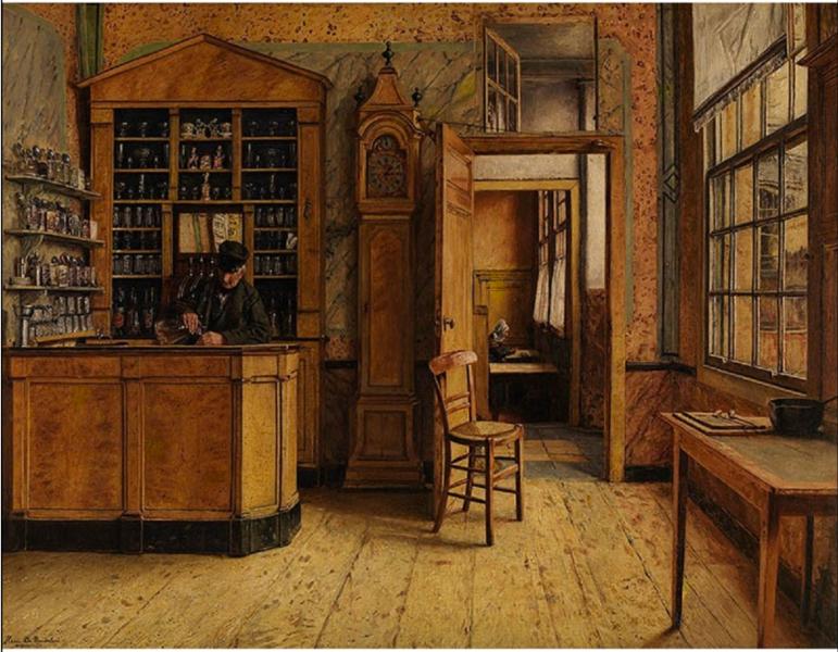 File:Henri de Braekeleer - The old inn.tiff