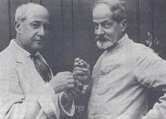 Henrique Bernardelli - Henrique (left) and Rodolfo Bernardelli