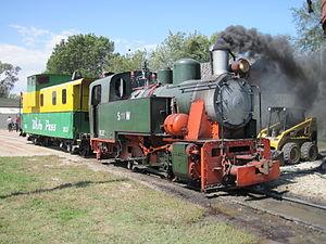 Henschel & Son - 1951 restored pony engine.