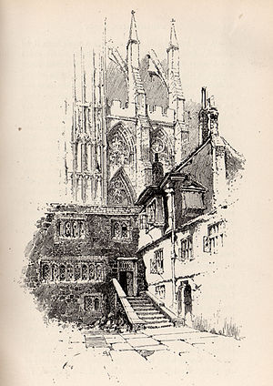 Dean of Westminster - The Deanery at Westminster Abbey