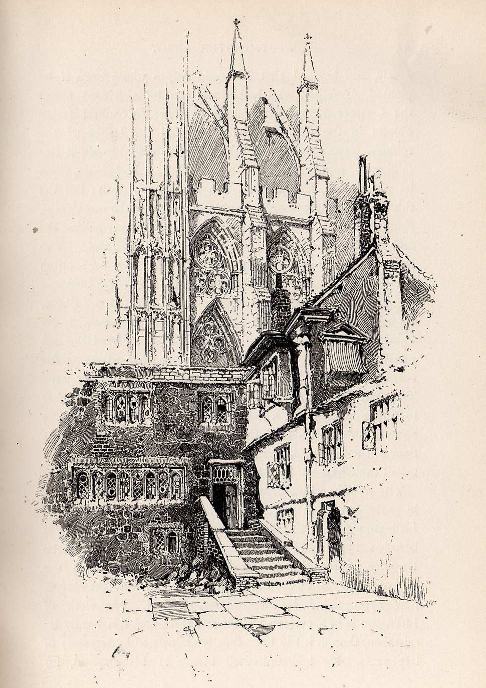 Herbert Railton The Deanery A Brief Account of Westminster Abbey 1894