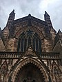 Hereford Cathedral front, July 2019.jpg