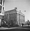 Het Stadhuis van Groningen liep geringe schade op tijdens de hevige gevechten in, Bestanddeelnr 900-2660.jpg