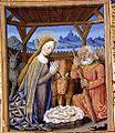 Heures de Jean Charpentier - 034v Nativité.jpg