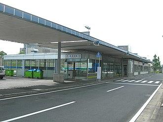 Higashi-Narita Station - Higashi-Narita Station in July 2010
