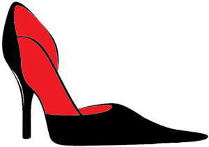 English: high heels