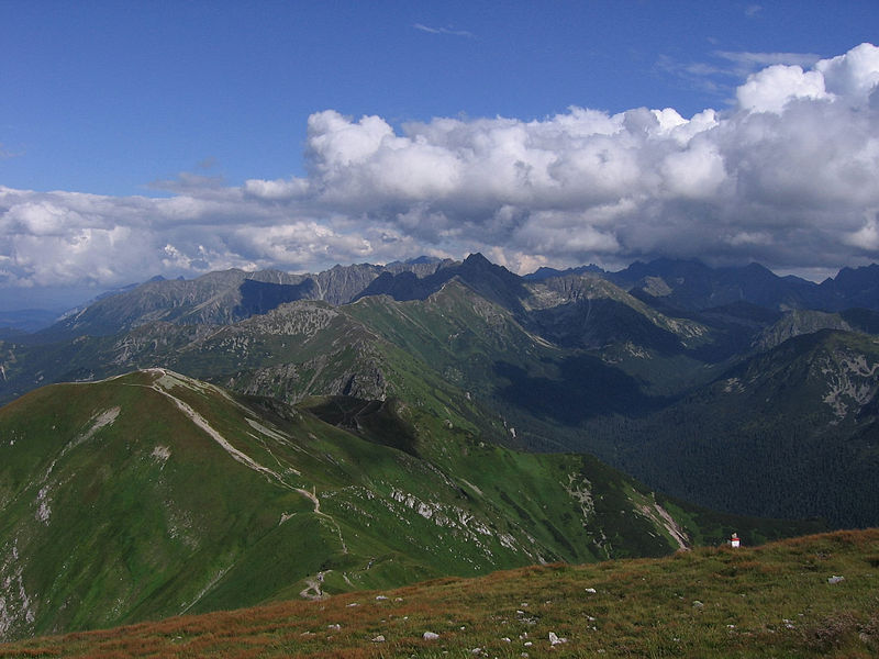 File:High Tatras from Malolaczniak.jpg