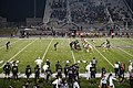 Highland Park vs. Royse City football 2017 10 (Royse City punting).jpg
