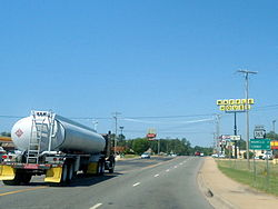 Highway 365 near Maumelle, Arkansas.jpg