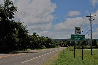 Arkansas Highway 59 - Highway 59 in Evansville
